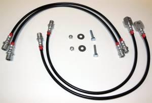 Brakes - Brake Hydraulic Line Kit - Revtek - Brake Line Kit | Revtek (74BL)