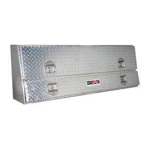 Truck Bed Accessories - Tool Box - Truck Bed Side Rail - Westin - Brute Contractor TopSider Tool Box | Westin (80-TBS200-60)