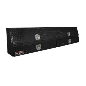 Truck Bed Accessories - Tool Box - Truck Bed Side Rail - Westin - Brute Contractor TopSider Tool Box | Westin (80-TBS200-88D-BD-B)
