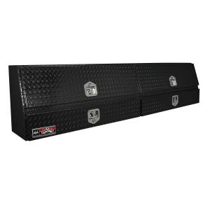 Truck Bed Accessories - Tool Box - Truck Bed Side Rail - Westin - Brute Contractor TopSider Tool Box | Westin (80-TBS200-96D-BD-B)
