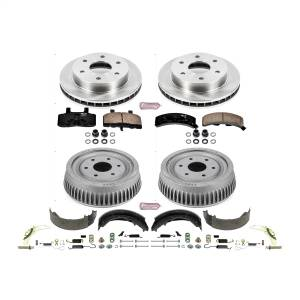 Brakes - Complete Vehicle Disc/Drum Brake Kit - Power Stop - Autospecialty By Power Stop 1-Click Daily Driver Pad/Rotor/Drum And Shoe Kits | Power Stop (KOE15035DK)