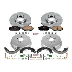 Brakes - Complete Vehicle Disc/Drum Brake Kit - Power Stop - Autospecialty By Power Stop 1-Click Daily Driver Pad/Rotor/Drum And Shoe Kits | Power Stop (KOE15039DK)