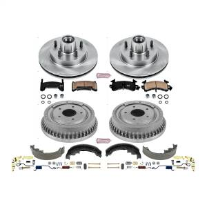 Brakes - Complete Vehicle Disc/Drum Brake Kit - Power Stop - Autospecialty By Power Stop 1-Click Daily Driver Pad/Rotor/Drum And Shoe Kits | Power Stop (KOE15042DK)