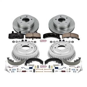 Brakes - Complete Vehicle Disc/Drum Brake Kit - Power Stop - Autospecialty By Power Stop 1-Click Daily Driver Pad/Rotor/Drum And Shoe Kits | Power Stop (KOE15048DK)
