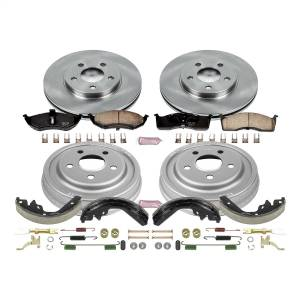 Brakes - Complete Vehicle Disc/Drum Brake Kit - Power Stop - Autospecialty By Power Stop 1-Click Daily Driver Pad/Rotor/Drum And Shoe Kits | Power Stop (KOE15058DK)