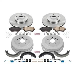 Brakes - Complete Vehicle Disc/Drum Brake Kit - Power Stop - Autospecialty By Power Stop 1-Click Daily Driver Pad/Rotor/Drum And Shoe Kits | Power Stop (KOE15060DK)