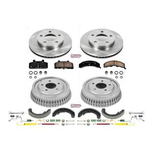 Brakes - Complete Vehicle Disc/Drum Brake Kit - Power Stop - Autospecialty By Power Stop 1-Click Daily Driver Pad/Rotor/Drum And Shoe Kits | Power Stop (KOE15084DK)