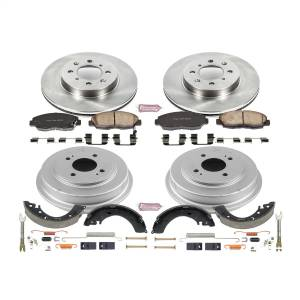 Brakes - Complete Vehicle Disc/Drum Brake Kit - Power Stop - Autospecialty By Power Stop 1-Click Daily Driver Pad/Rotor/Drum And Shoe Kits | Power Stop (KOE15087DK)