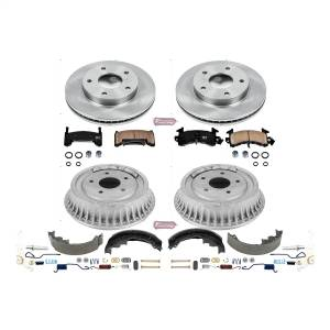 Brakes - Complete Vehicle Disc/Drum Brake Kit - Power Stop - Autospecialty By Power Stop 1-Click Daily Driver Pad/Rotor/Drum And Shoe Kits | Power Stop (KOE15053DK)
