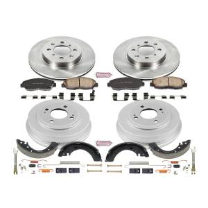 Brakes - Complete Vehicle Disc/Drum Brake Kit - Power Stop - Autospecialty By Power Stop 1-Click Daily Driver Pad/Rotor/Drum And Shoe Kits | Power Stop (KOE15086DK)