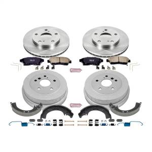 Brakes - Complete Vehicle Disc/Drum Brake Kit - Power Stop - Autospecialty By Power Stop 1-Click Daily Driver Pad/Rotor/Drum And Shoe Kits | Power Stop (KOE15059DK)