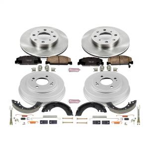 Brakes - Complete Vehicle Disc/Drum Brake Kit - Power Stop - Autospecialty By Power Stop 1-Click Daily Driver Pad/Rotor/Drum And Shoe Kits | Power Stop (KOE15085DK)