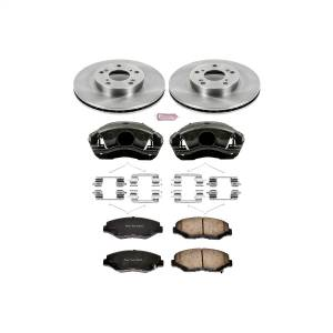 Brakes - Disc Brake Pad/Caliper and Rotor Kit - Power Stop - Autospecialty By Power Stop 1-Click OE Replacement Brake Kit w/Calipers | Power Stop (KCOE1043)