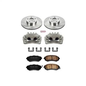 Brakes - Disc Brake Pad/Caliper and Rotor Kit - Power Stop - Autospecialty By Power Stop 1-Click OE Replacement Brake Kit w/Calipers | Power Stop (KCOE1124)