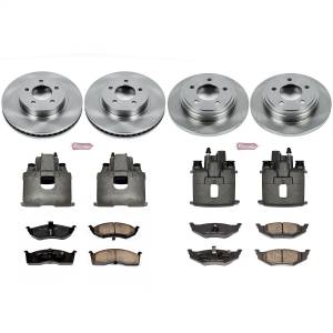Power Stop - Autospecialty By Power Stop 1-Click OE Replacement Brake Kit w/Calipers   Power Stop (KCOE1693) - Image 1
