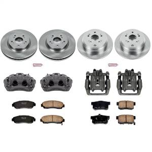 Power Stop - Autospecialty By Power Stop 1-Click OE Replacement Brake Kit w/Calipers   Power Stop (KCOE229) - Image 1