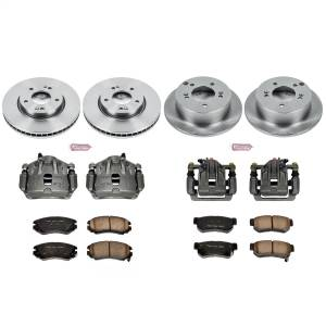 Power Stop - Autospecialty By Power Stop 1-Click OE Replacement Brake Kit w/OE Calipers | Power Stop (KCOE4449B) - Image 1