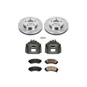 Power Stop - Autospecialty By Power Stop 1-Click OE Replacement Brake Kit w/Calipers | Power Stop (KCOE5233) - Image 1