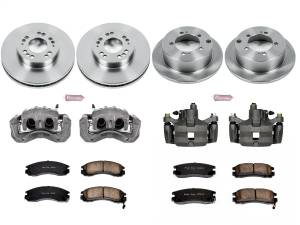 Power Stop - Autospecialty By Power Stop 1-Click OE Replacement Brake Kit w/Calipers | Power Stop (KCOE802) - Image 1