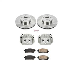 Brakes - Disc Brake Pad/Caliper and Rotor Kit - Power Stop - Autospecialty By Power Stop 1-Click OE Replacement Brake Kit w/Calipers | Power Stop (KCOE1120)