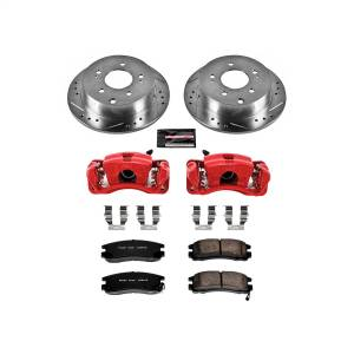 Power Stop - Z23 Evolution Sport Performance 1-Click Brake Kit w/Powder Coated Calipers | Power Stop (KC155) - Image 1