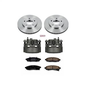 Power Stop - Autospecialty By Power Stop 1-Click OE Replacement Brake Kit w/Calipers | Power Stop (KCOE1498) - Image 1