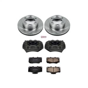 Power Stop - Autospecialty By Power Stop 1-Click OE Replacement Brake Kit w/Calipers | Power Stop (KCOE1233A) - Image 1