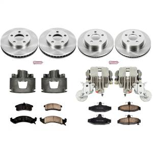 Power Stop - Autospecialty By Power Stop 1-Click OE Replacement Brake Kit w/Calipers | Power Stop (KCOE1533) - Image 1