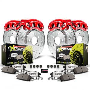 Power Stop - Z26 Extreme Street Warrior 1-Click Brake Kit w/Powder Coated Calipers   Power Stop (KC6781-26) - Image 2