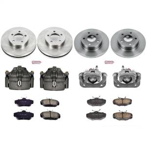 Power Stop - Autospecialty By Power Stop 1-Click OE Replacement Brake Kit w/Calipers | Power Stop (KCOE1328) - Image 1