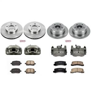 Power Stop - Autospecialty By Power Stop 1-Click OE Replacement Brake Kit w/Calipers | Power Stop (KCOE2713) - Image 1