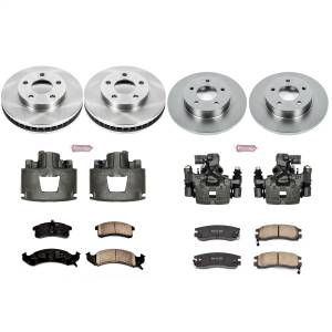 Power Stop - Autospecialty By Power Stop 1-Click OE Replacement Brake Kit w/Calipers | Power Stop (KCOE2760A) - Image 1