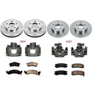 Power Stop - Autospecialty By Power Stop 1-Click OE Replacement Brake Kit w/Calipers | Power Stop (KCOE2762A) - Image 1