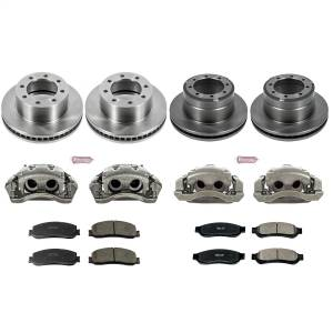 Power Stop - Autospecialty By Power Stop 1-Click OE Replacement Brake Kit w/Calipers   Power Stop (KCOE6546) - Image 1
