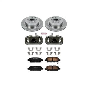Brakes - Disc Brake Pad/Caliper and Rotor Kit - Power Stop - Autospecialty By Power Stop 1-Click OE Replacement Brake Kit w/Calipers | Power Stop (KCOE103)