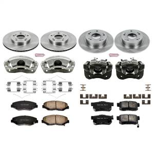 Brakes - Disc Brake Pad/Caliper and Rotor Kit - Power Stop - Autospecialty By Power Stop 1-Click OE Replacement Brake Kit w/Calipers | Power Stop (KCOE1047)