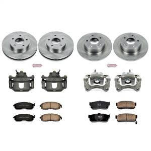 Power Stop - Autospecialty By Power Stop 1-Click OE Replacement Brake Kit w/Calipers | Power Stop (KCOE2704A) - Image 1
