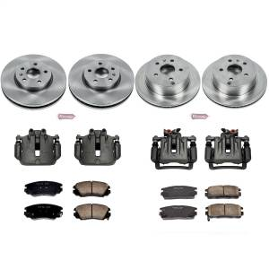 Power Stop - Autospecialty By Power Stop 1-Click OE Replacement Brake Kit w/Calipers | Power Stop (KCOE5516) - Image 1