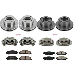 Power Stop - Autospecialty By Power Stop 1-Click OE Replacement Brake Kit w/Calipers   Power Stop (KCOE5574) - Image 1