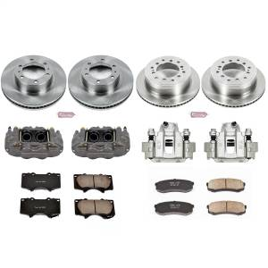 Power Stop - Autospecialty By Power Stop 1-Click OE Replacement Brake Kit w/Calipers | Power Stop (KCOE5805) - Image 1