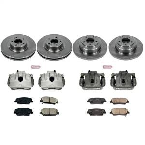 Power Stop - Autospecialty By Power Stop 1-Click OE Replacement Brake Kit w/Calipers | Power Stop (KCOE6170) - Image 1