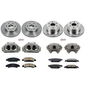 Power Stop - Autospecialty By Power Stop 1-Click OE Replacement Brake Kit w/Calipers | Power Stop (KCOE7225) - Image 1