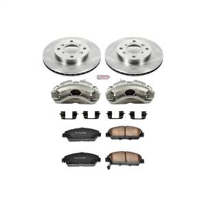 Brakes - Disc Brake Pad/Caliper and Rotor Kit - Power Stop - Autospecialty By Power Stop 1-Click OE Replacement Brake Kit w/Calipers | Power Stop (KCOE1033)