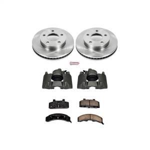 Power Stop - Autospecialty By Power Stop 1-Click OE Replacement Brake Kit w/Calipers | Power Stop (KCOE1487) - Image 1