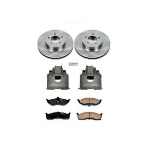 Power Stop - Autospecialty By Power Stop 1-Click OE Replacement Brake Kit w/Calipers | Power Stop (KCOE1694) - Image 1