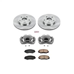 Power Stop - Autospecialty By Power Stop 1-Click OE Replacement Brake Kit w/Calipers | Power Stop (KCOE258) - Image 1