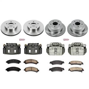 Power Stop - Autospecialty By Power Stop 1-Click OE Replacement Brake Kit w/Calipers | Power Stop (KCOE2005) - Image 1