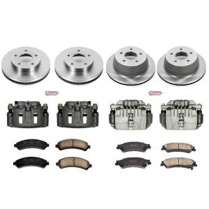 Power Stop - Autospecialty By Power Stop 1-Click OE Replacement Brake Kit w/Calipers | Power Stop (KCOE2006) - Image 1