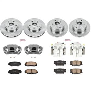 Power Stop - Autospecialty By Power Stop 1-Click OE Replacement Brake Kit w/Calipers | Power Stop (KCOE4100A) - Image 1