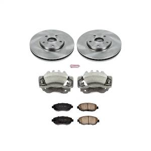 Brakes - Disc Brake Pad/Caliper and Rotor Kit - Power Stop - Autospecialty By Power Stop 1-Click OE Replacement Brake Kit w/Calipers | Power Stop (KCOE1077)